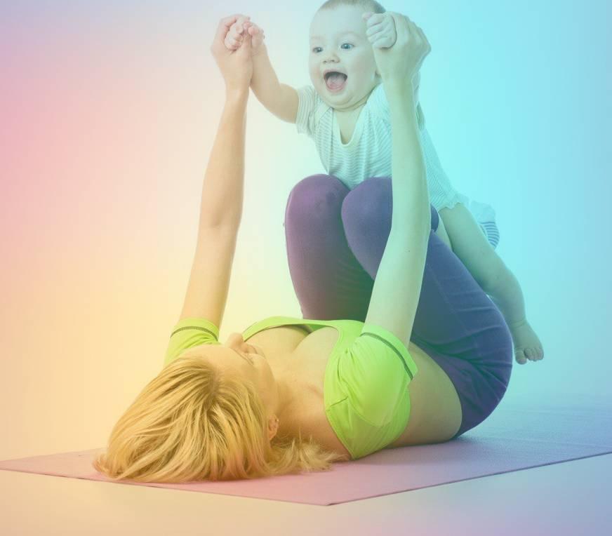 Йога для молодых мам: советы и рекомендации